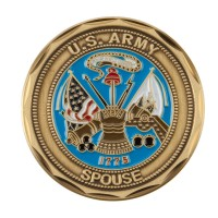 Coin, Medallion - Green Spouse Proud U.S. Army Coin (2)