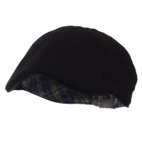 Ivy - Black Plain Duck Bill Ivy Hat