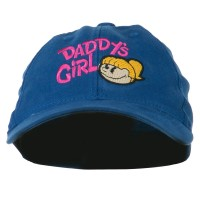 Embroidered Cap - Royal Daddy's Girl Youth Flexfit Cap