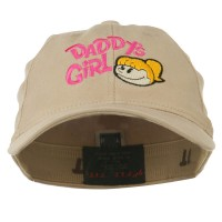 Embroidered Cap - Khaki Daddy's Girl Youth Flexfit Cap