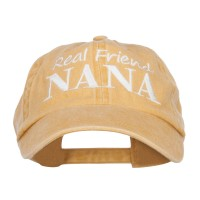 Embroidered Cap - Mango Real Friend Nana Embroidery Cap