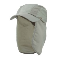 Flap Cap - Khaki UV 50+ Talson Cap Detachable Flap