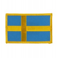 Patch - Sweden Europe Flag Embroidered Patch