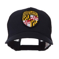 Embroidered Cap - MD State USA Eastern State Patch Cap