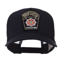 Embroidered Cap - PA State USA Eastern State Patch Cap