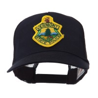 Embroidered Cap - VT State USA Eastern State Patch Cap