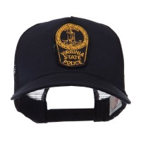 Embroidered Cap - VA State USA Eastern State Patch Cap
