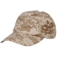 Ball Cap - Desert Digital Enzyme Washed Camo Cap