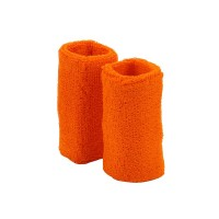 Band - Orange XL Terry Cloth Wrist B, Pair