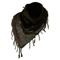 Scarf, Shawl - Brown Flush Fashion Checkered Scarf