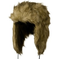 Trooper - Brown Woman's Faux Fur Trooper Hat