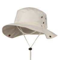 Outdoor - Beige Extra Big Size Aussie Hats