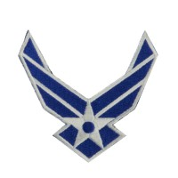 Patch - Air Force 2 Air Force Embroidered Patch