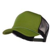 Ball Cap - Cactus Black Summer Foam Mesh Trucker Cap