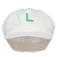 Newsboy - Lime Fire Mario Luigi Newsboy Cap