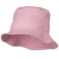 Bucket - Pink White Infant Bucket Hat