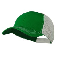Ball Cap - Kelly White Fairway Trucker Cap