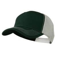 Ball Cap - Forest White Fairway Trucker Cap