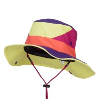Outdoor - Yellow Roll Up Folded Brim Outdoor Hat