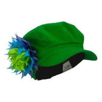 Newsboy - Lime Flower Newsboy Youth Cap