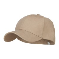 Ball Cap - Khaki Big Size Stretchable Deluxe Fitted Cap