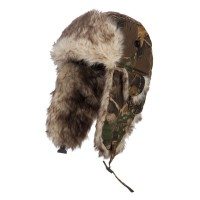 Trooper - Autumn Camouflage Bomber Fur Trooper Hat