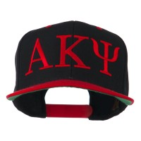 Embroidered Cap - Red Black Alpha Kappa Psi Embroidered Cap