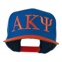 Embroidered Cap - Royal Orange Alpha Kappa Psi Embroidered Cap