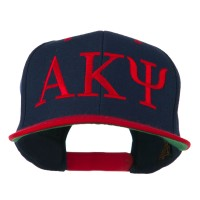 Embroidered Cap - Navy Red Alpha Kappa Psi Embroidered Cap