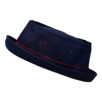Bucket - Navy Wine Sky Big Size Roll Up Bucket Hat