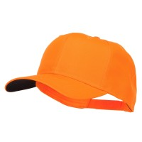 Ball Cap - 6 Panel Orange Plain 6 Panel Neon Cap