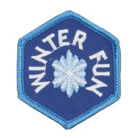 Patch - Blue Winter Fun Patches