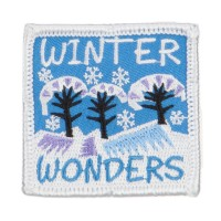 Patch - White Winter Fun Patches