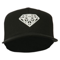 Embroidered Cap - Black Diamond Logo Fitted Youth Cap