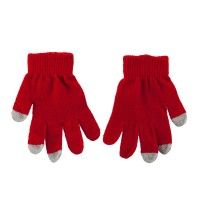 Glove - Red Kid's Touch Screen Texting Glove