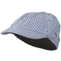 Ivy - Blue Boy's Blue Striped Driving Cap