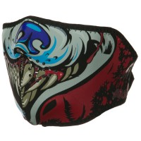 Face Mask - Wolf Lethal Wolf Half Face Mask