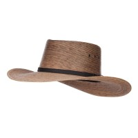 Outdoor - Dk Natural Men's Palm Braid Gambler Hat