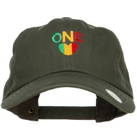 Embroidered Cap - Olive One Love Embroidered Cap