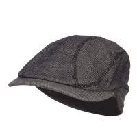 Ivy - Black Marleld Terry Cotton Ivy Cap