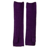 Warmer - Purple Metallic Blend Arm Warmer