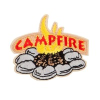 Patch - Beige Campfire Outdoor Patches