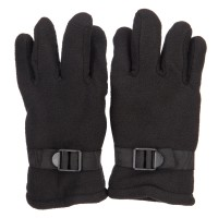 Glove - Black Men's Thick Fleece Glove