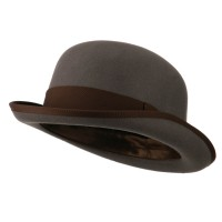 Dressy - Grey Chocolate Men's Felt Bowler Hat
