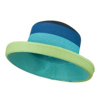 Dressy - Blue Multi Color Fashion Hat