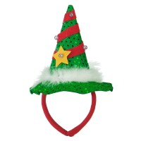 Costume - Red Green Mini Light up Christmas Headband
