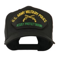 Embroidered Cap - Army Police US Military Police Large Patch Cap