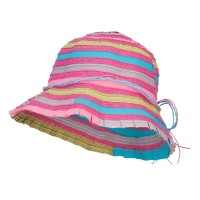 Bucket - Mix Girl's Multi Mix Braid Bucket Hat