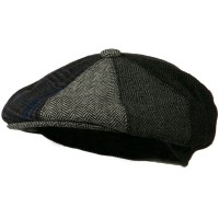 Newsboy - Grey Men's Wool Apple Cap