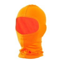 Face Mask - High Orange Solid Nylon Balaclava